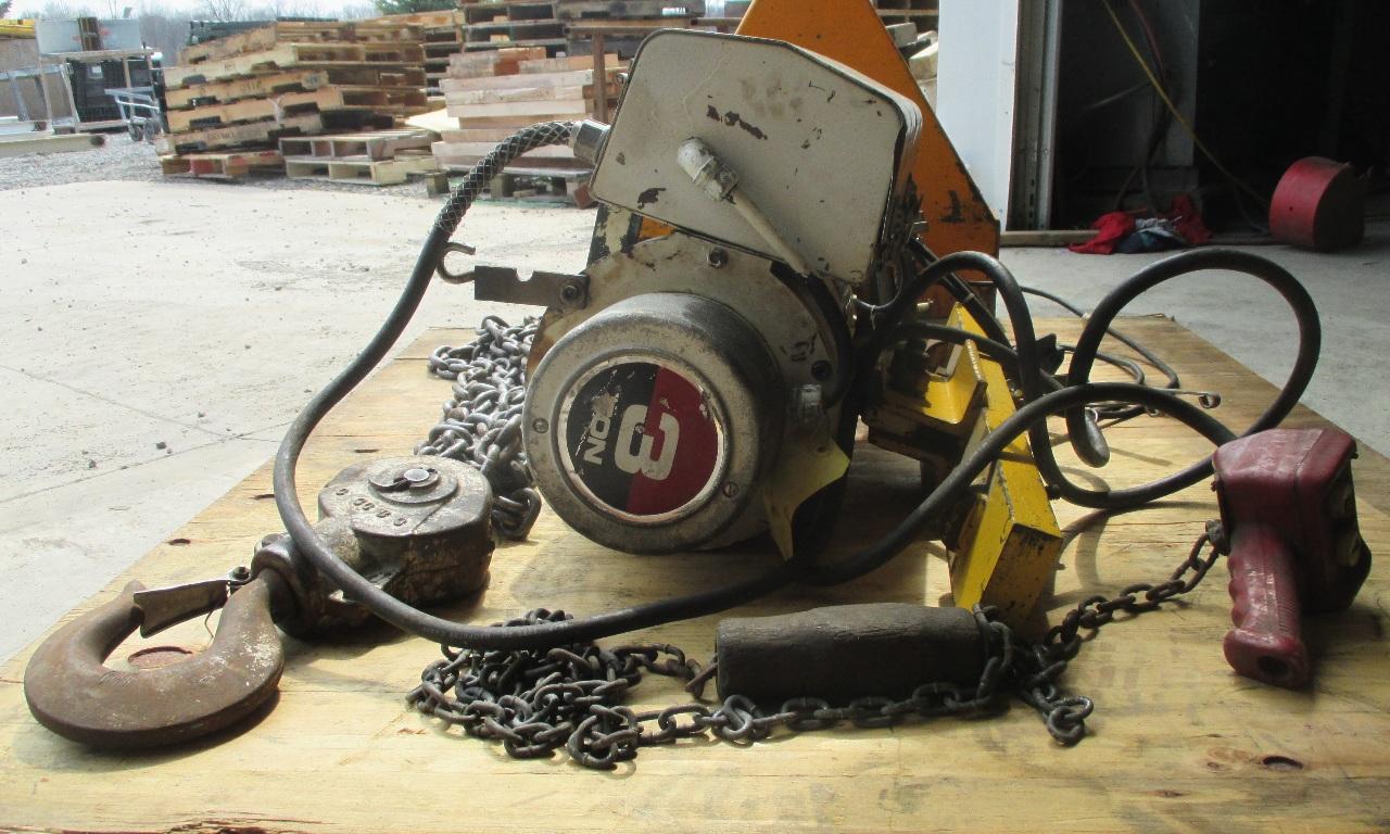 Duff Norton Coffing 3 Ton Hoist 72720dh771 Daves Industrial