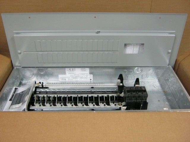 ge tm3220ccu 200 amp main breaker load center 120 240 vac 1 phase 3 rh ebay com