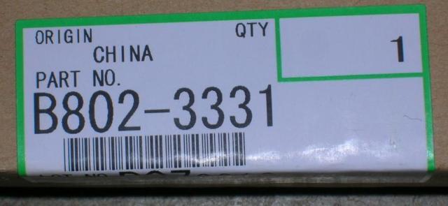 Genuine Ricoh Brand ADF Reverse Roller  B802-3331