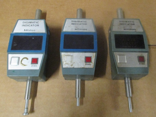 Lot of 3 Mitutoyo  543-241-1 Digimatic Indicator  Type ID-1010E