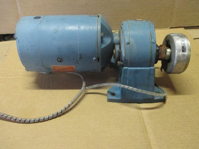 Boston Gear BG29008-25 Motor & Boston Gear F221S-PH-4-K5 Reducer