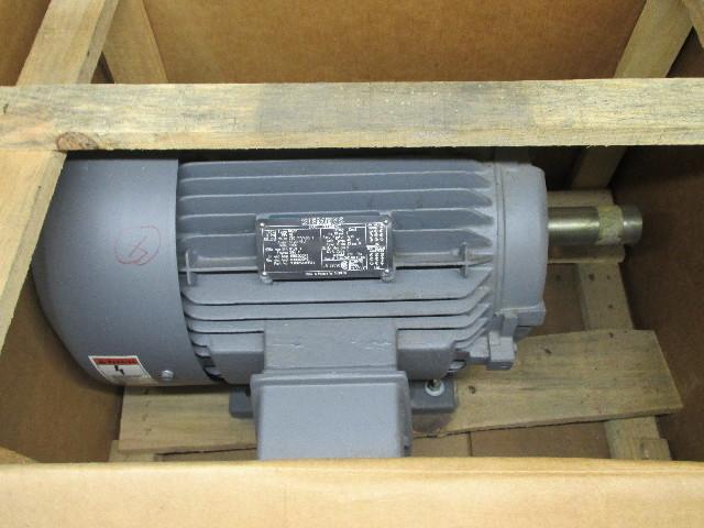 Siemens 15Hp Motor ETI6058 230/460V  FR 254T RPM 1760 Type RGZP