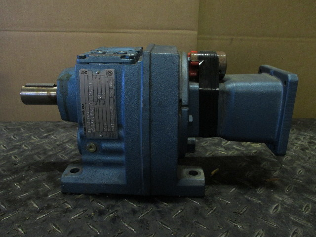 SEW Eurodrive R47AQA115/2 Gear Box   Ratio 23.28