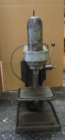 Lancelier No. 41 Drill Press on Coolant Table w/ Kingston Conley AC Motor Volts 110 PH 1 HP 1/4