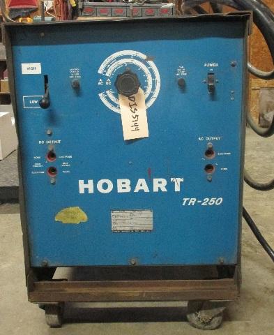Hobart Arc welder TR250 on cart.