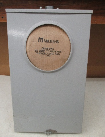Milbank 20 amp Instrument Transformer with test switch provision