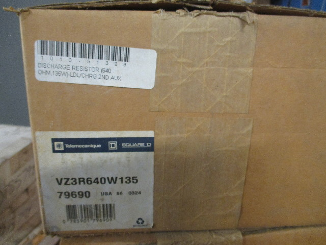 Telemecanique VZ3R640W135  Speed Drive Discharge Resistor 640 OHM  135 Watt