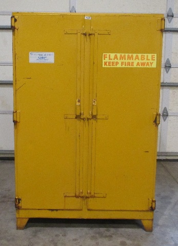 Flammable Storage Cabinet Model 150 56 S.M. 3 Shelves