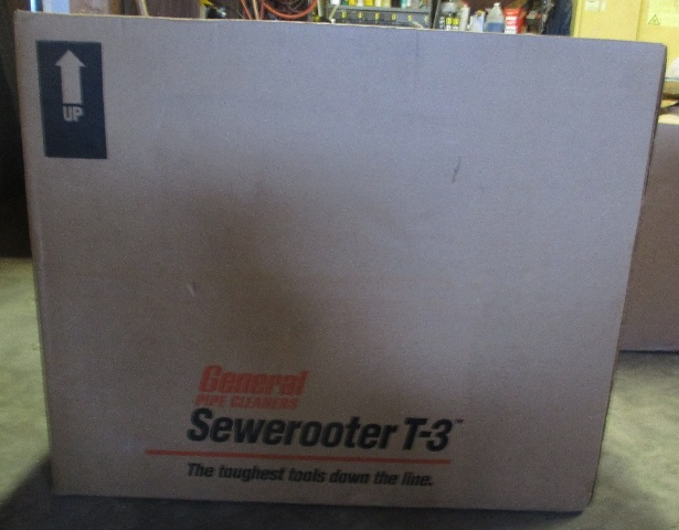 General Pipe Cleaners P-T3-D Sewerooter T-3