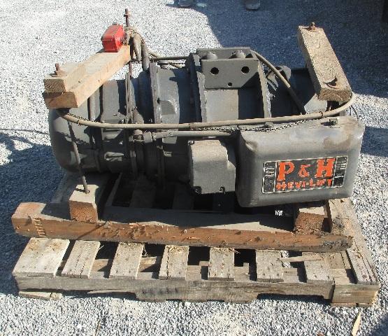 P&H Hevi-Lift 3-Ton Cable Hoist 440V 3 PH (No trolley)