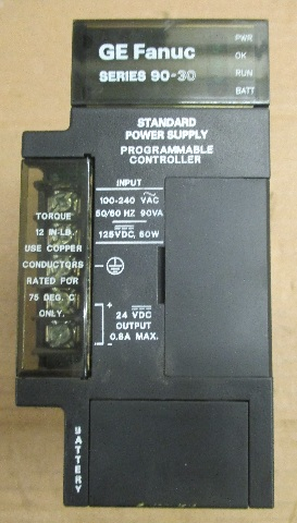 GE Fanuc Series 90-30 Hi-Cap Power Supply Programmable Controller IC693PWR330F