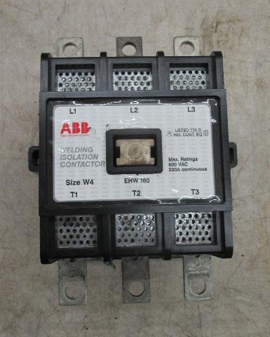 ABB Welding Isolation Contactor EHW160