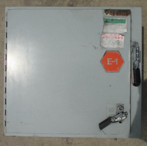 Hammond Control Panel 1447SC10