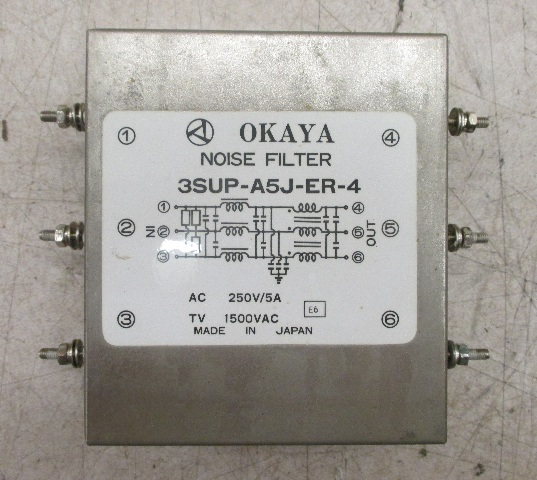 Okaya Noise filter 3SUP-A5J-ER-4