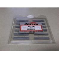 Sunnen K12A47 Honing Stone 12 Pieces NIB