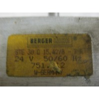 BERGER LAHR 30 Q 15.42/8-7L 24V 50/60 Hz ***Price Reduced***