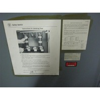 Westinghous Heavy Duty Safety Switch HF-365 400 AMP