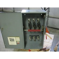 Westinghous Heavy Duty Safety Switch HF-365 400 AMP
