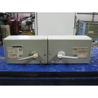 General Electric Type QMR Fusible Interrupter THP361L 30 Amps And THFP361