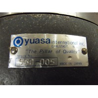 YUASA RAPIDEX VERTICAL / HORIZONTAL 5C INDEXING FIXTURE - #550-005