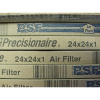 Flanders - Precision Aire PSF Filters  Size: 24 x 24 x 1 / Box of 12 - NEW
