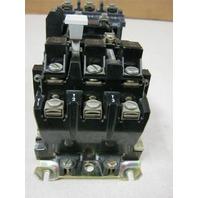 ALLEN BRADLEY SZ 0 STARTER 509-A0D  SERIES B 18A 115-120V