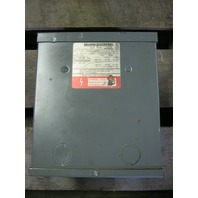 SQUARE D 1.5 KVA S1F GENERAL PURPOSE TRANSFORMER