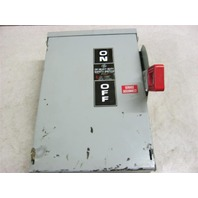 GE TH3361R Heavy Duty Safety Switch 30A