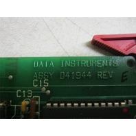 Data Instruments D41944 Control Board
