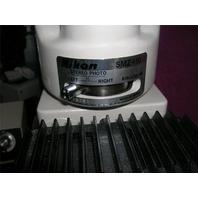 Nikon SMZ 10 Stereozoom Microscope 15X Eye Pieces, with Navitar Illumator 150