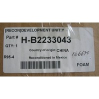 Genuine Ricoh Brand Yellow Developer Unit, Model H-B223-3043 H-B2233043 , Refurb