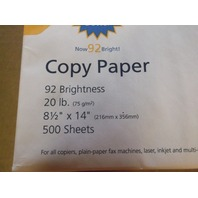 Corporate Express White Recycled Copy Paper 7 packs of 500 (Ceb8514)