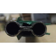Duct-o-wire conductor bar -FE-758-2-G 90 Amp Bar - Green Cover - 10 Ft with attached power feed