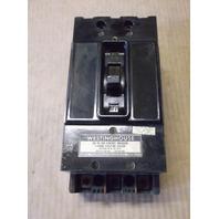 WESTINGHOUSE 90 AMP 3 POLE AB DE-ION CURRENT LIMITING CIRCUIT BREAKER F-FRAME