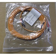 OPTICONX, 62.5-Micron Fiber Optic Patch Cable, ST ST, Duplex Riser, 10-m (32-ft.)