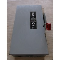 GENERAL ELECTRIC GE THN3363 10 NON-FUSIBLE 100A 600V-AC 3P SAFETY SWITCH