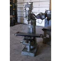 Alliant Vertical Mill Model# 42VC 2HP Variable Speed With Dynamics Digital Measuring Display