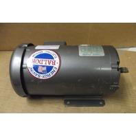 Baldor Electric Motor - MM3457 -  0.34HP - 3 Phase - 208-230/460 Volt - 3450 RPM