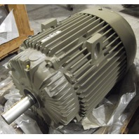 General Electric Extra Severe Duty Energy Saver 75 HP AC Motor  VOLTS 460 Mod. 5KS365SAA172