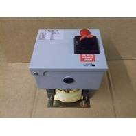 DAYKIN TL4100 TRANSFORMER W/ DAYKIN OMDGTB-03 DISCONNECT SWITCH 1PH 1500VA