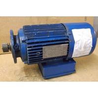 Sew-Eurodrive Motor DFT80K4BMG1HRZ  .75HP 1700 RPM 3 PH