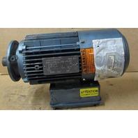 SEW-EURO Motor DFT80K4BMG1HRZ .75HP 1700 RPM 3 PH Volts 266 Delta / 460/Y TEFC