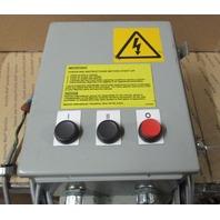 Starter Enclosure Box  w/ Allen Bradley contactors / components C09, 140M-C2E