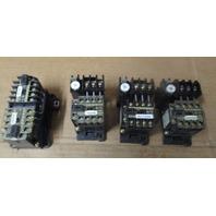 LOT OF 4  FUJI-ELECTRIC-SJ-0G-24-VOLT