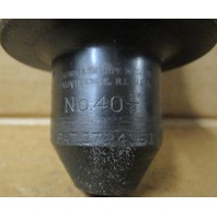 BROWN & SHARPE NO 40 TOOL HOLDER 40 TAPER