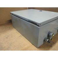 Wiegmann Eclosure N412161206CWW With Bodine Electric DC Motor Speed Control