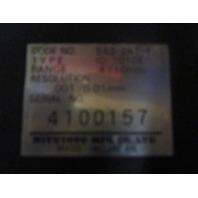 Mitutoyo Digimatic Indicator 001-4