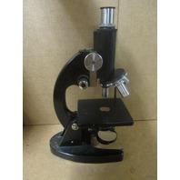 Vintage Yashima Tokyo NO. 234633 Microscope In Wooden Case