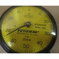 FEDERAL Indicator Dial Full Jeweled P61 .01mm Flat Back