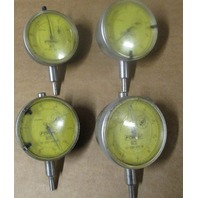 Lot of 4 Fowler 52-520-300  Dial Indicator